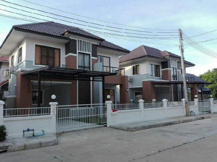 New house for rent in Kullapant Ville 9, near Lanna International School, Kad Farang Villa
