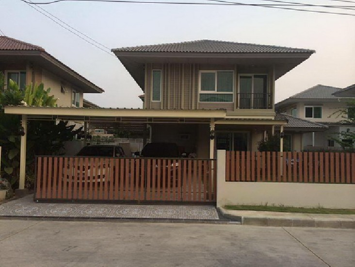 (เช่า) FOR RENT KANASIRI WONGWAEN-RAMA 5 / 3 beds 2 baths / 70 Sqw.**24,000**