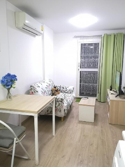 12K Sale and Rent ELIO DELRAY area of 34 sqm private corner room Sukhumvit 64