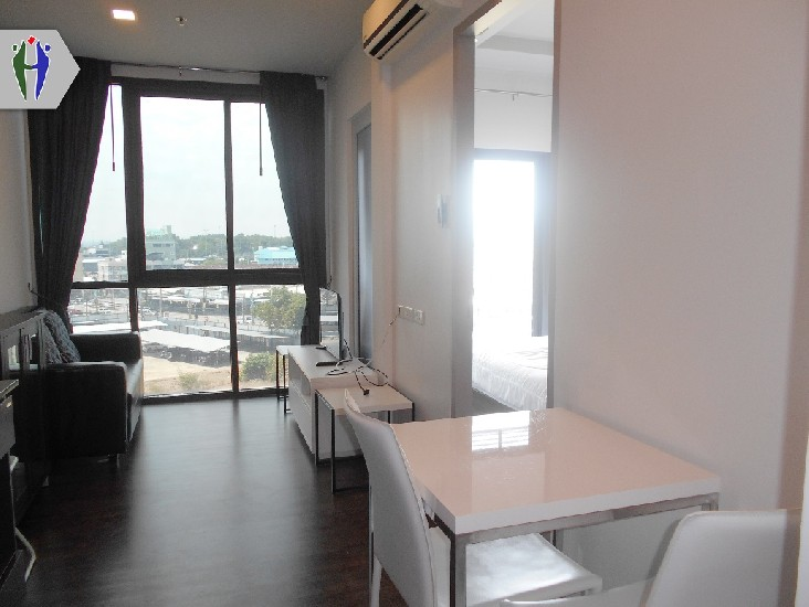 Condo for rent at North Pattaya 9,000 baht with Washing machine
