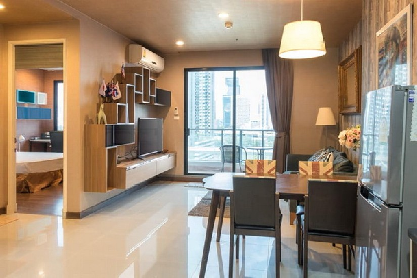 (เช่า) FOR RENT SUPALAI PREMIER ASOKE / 2 beds 1 bath / 70 Sqm.**28,000** Fully Furnished.