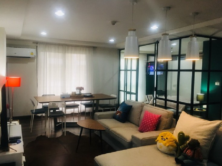 (เช่า) FOR RENT RESORTA YEN-AKAT / 2 beds 1 baths / 60 Sqm.**18,000** SUPER DEAL.