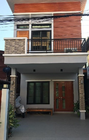 New townhouse in Sukhumvit 101/1 For rent townhouse 2-2BRS Only 18K