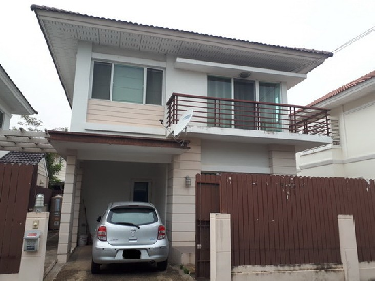 (เช่า) FOR RENT THE VILLA RATTANATHIBET THA-IT / 3 beds 2 baths / 36 Sqw.**22,000**
