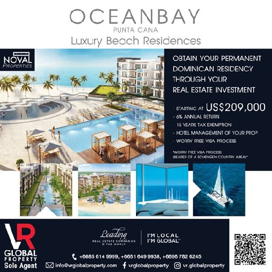 OCEANBAY Luxury Beach Residences, Punta Cana - Dominican Republic