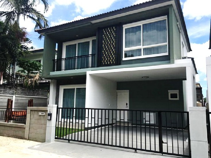 (เช่า) FOR RENT GOLDEN VILLAGE BANGNA-KINGKAEW / 3 beds 3 baths / 38 Sqw.**25,000**