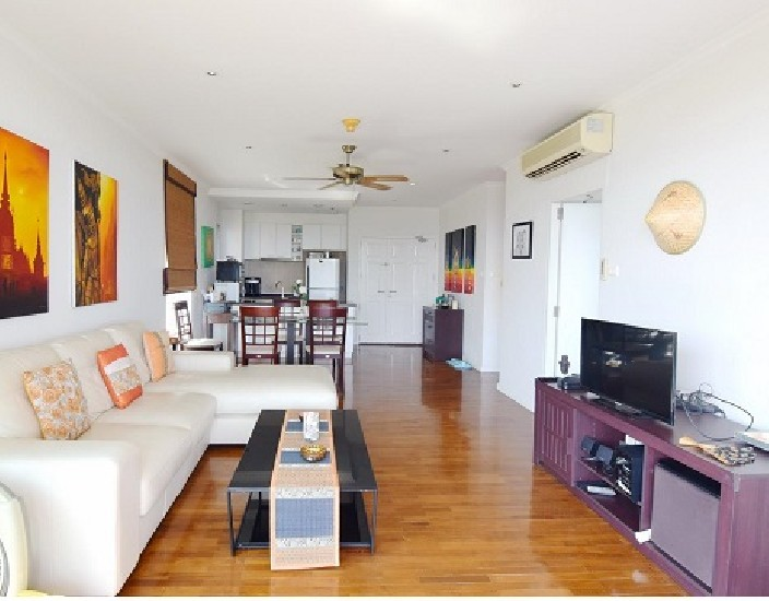 Condo for rent 2 bedroom 2 bathroom, living area 95 sqm on Phetkasem Road, near the sea, n